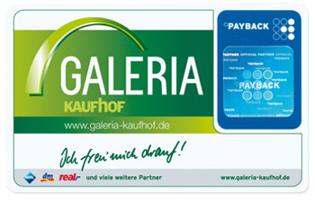Payback coupons galeria kaufhof