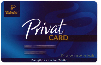 Tchibo Kundenkarte - Tchibo Private Card